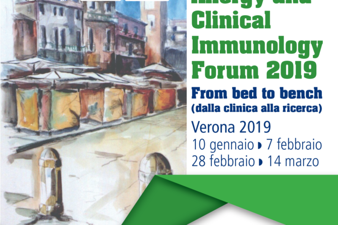 Verona Allergy and Clinical Immunology Forum 2019
